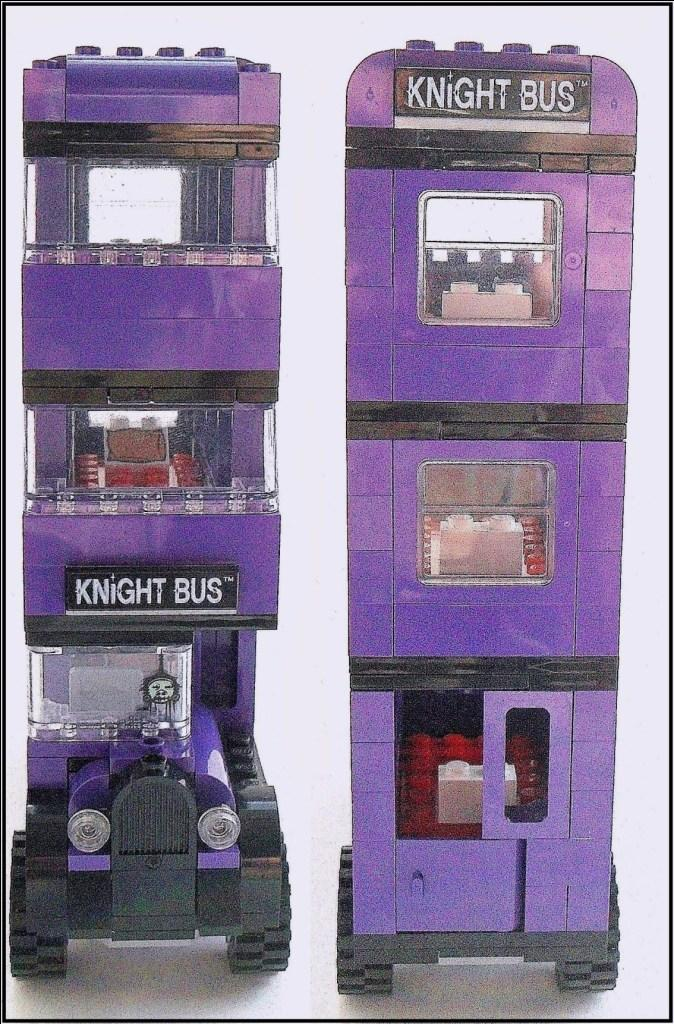 Lego Knight Bus Instructions
