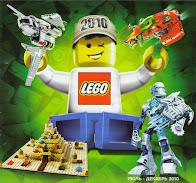 Русский каталог LEGO за второе полугодие 2010 года