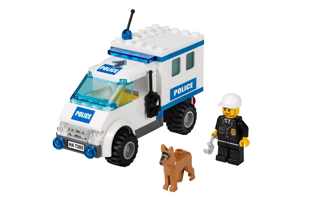 Lego City Police Dog Van 7285 Instructions