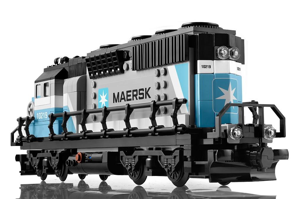 Инструкция Lego Maersk Train 10219