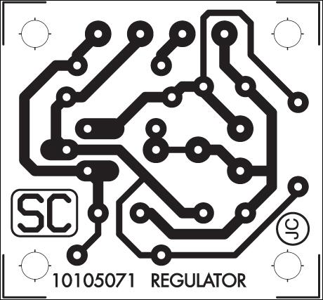 PCB layout for regulated power supply
