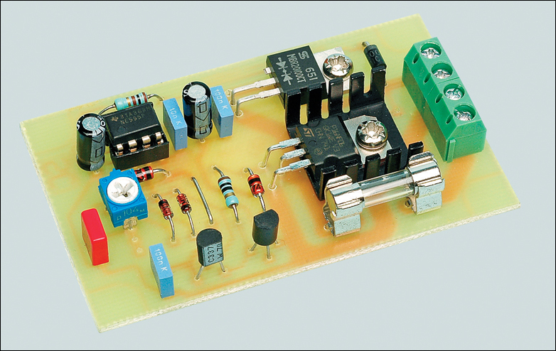 12v Speed Controller Dimmer Circuit Project