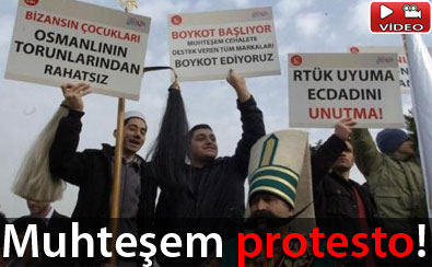 Muhteşem Yüzyıl Protestosu
