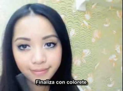 maquillaje ojos  de anime 13