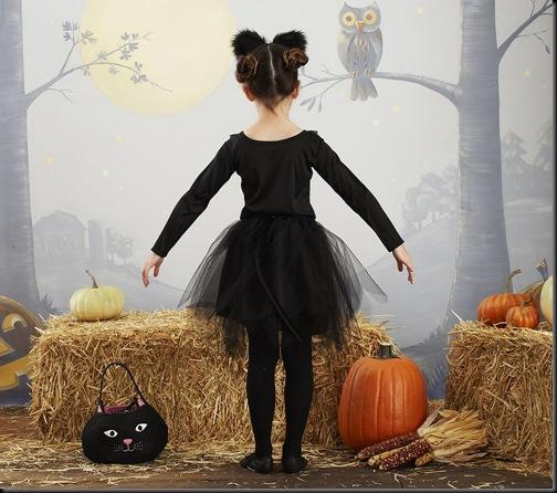 Como hacer un disfraz de gato para niña con un tutú | Todo Halloween