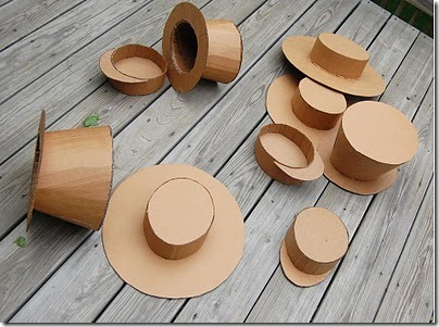 Sombreros de carton 2