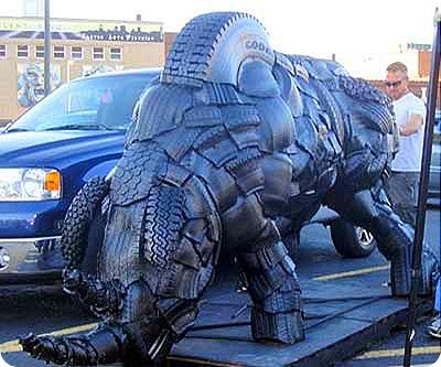 tire-sculpture