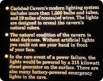 Cavern-lighting