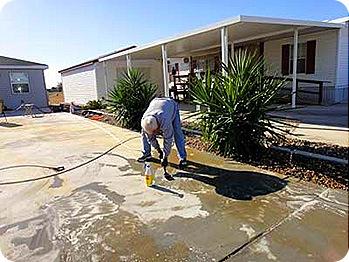 paul-washing-driveway