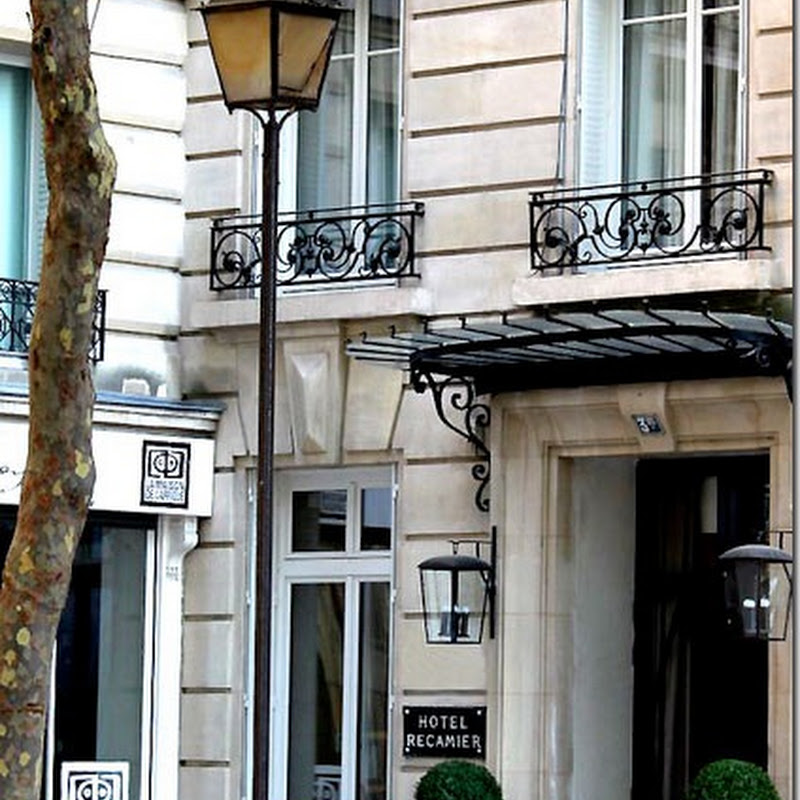 Dreaming of Paris and the Hotel Recamier