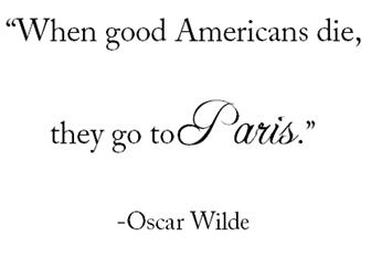 oscar wilde paris