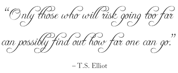 risk  quote ts elliot