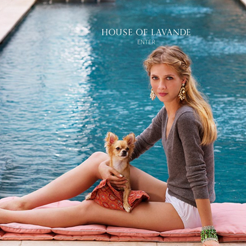 Palm Beach Style: House of Lavande