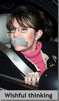 Palin duct taped
