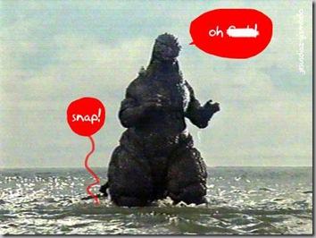 Godzilla mousetrap