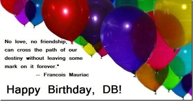 Happy B-day DB