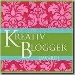 Award Kreativ Blogger