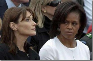 Michelle Obama and Bruni