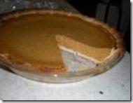 Edwin's 1st pumpkin pie