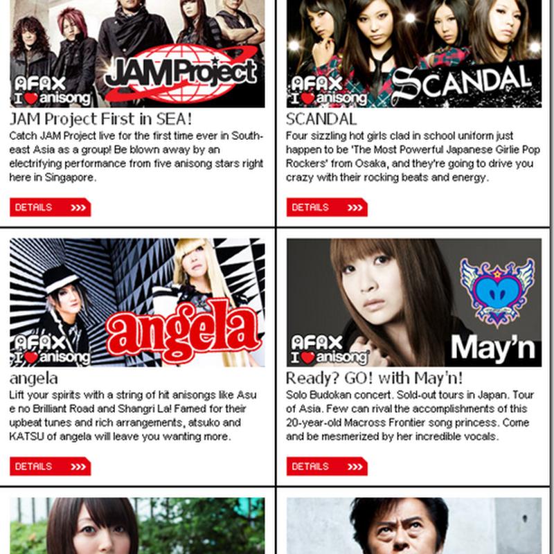 Anime Festival Asia 2010: Guest list !
