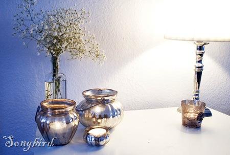 Mercury glass decoration
