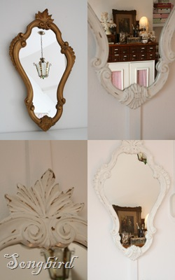 Makeover mirror collage