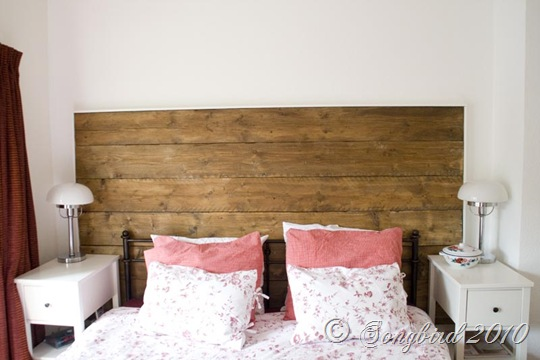 Repurposed Wood Headboard 1