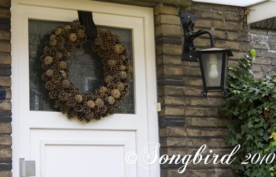 Pine Cone Wreath 2