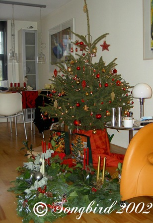 Christmas treet 2002 