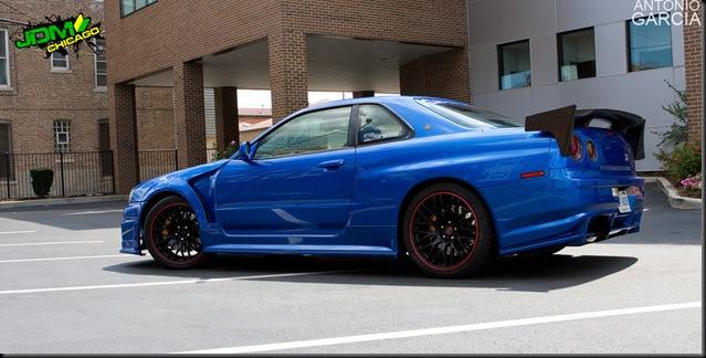 Nissan R34 GTR