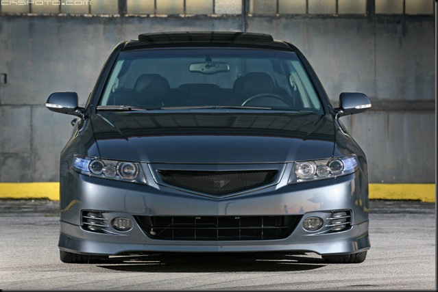 Accord front Volk TE37 blue