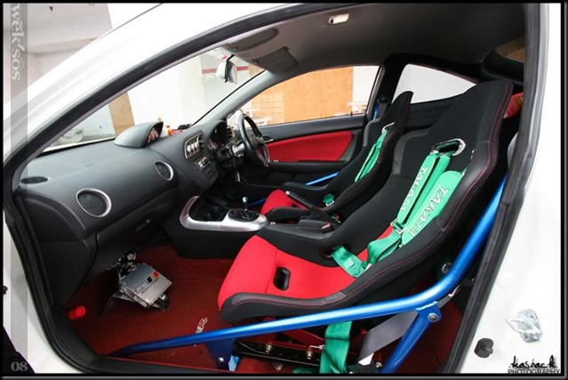 Integra DC5 interior