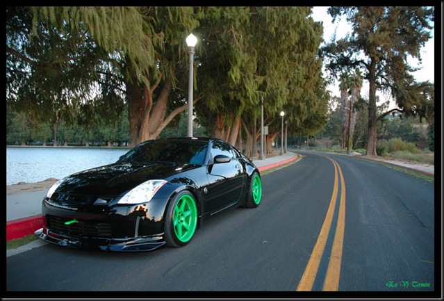 Takata green Volks 350Z
