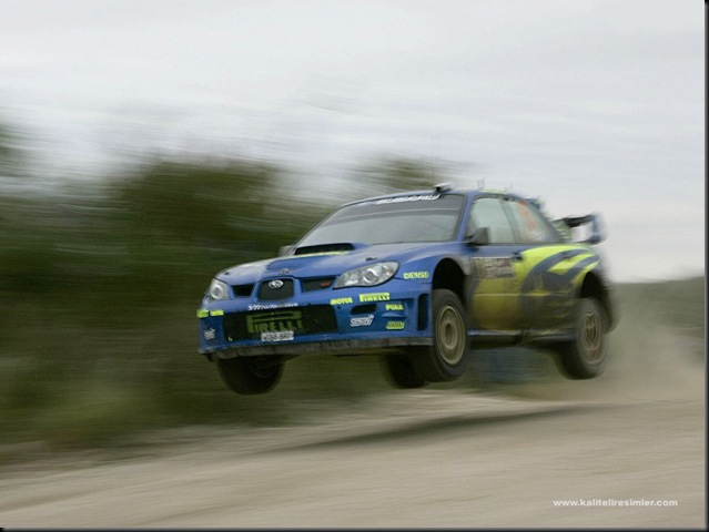 Subaru Impreza WRC Wallpaper 2