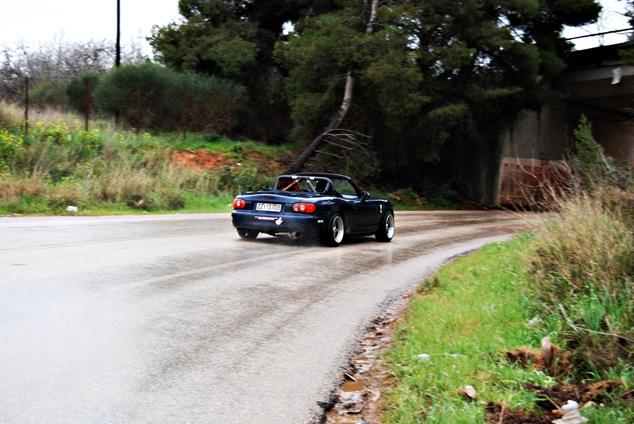MX5 drifting
