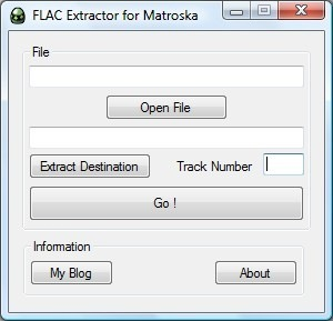 Flac extractor for MKV