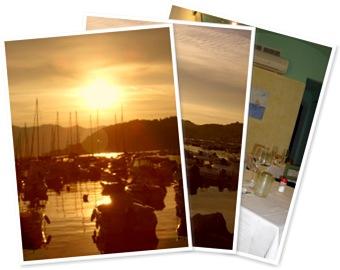 Visualizza lerici tramonto e cena