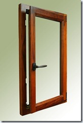 Tilt Turn Wood Window