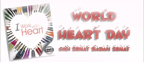 world heart day: i work with heart