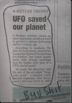 ufo bullshit