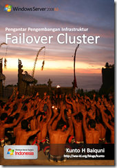 Pengantar Pengembangan Infrastruktur Failover Cluster