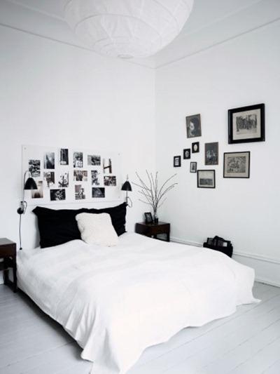 Sänggavel med kort, Boligmagasinet
