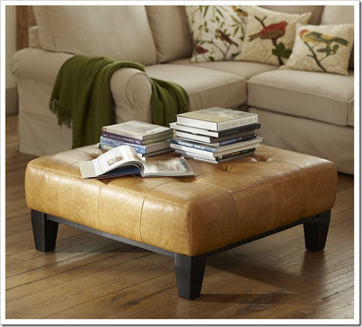 The Luxe For Less {Ottomans}