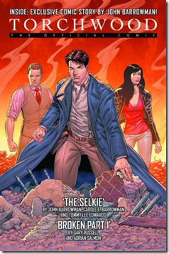 Torchwood Comic 1 Cover 1