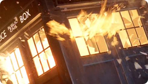 Tardis exploding