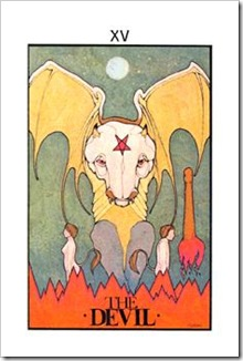 Aquarian Tarot  Major-Devil