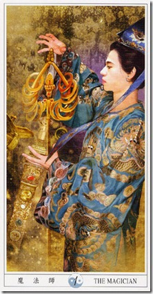 01-Major-Magician China Tarot