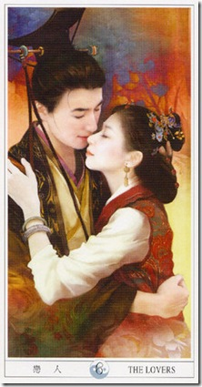 06-Major-Lovers China Tarot