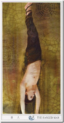 12-Major-Hanged China Tarot