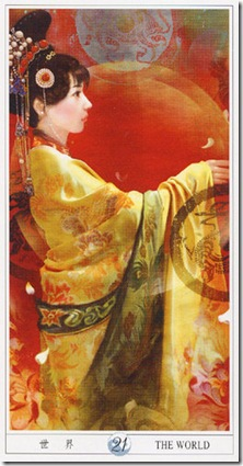 21-Major-World China Tarot